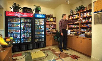 For Breakfast Items To Prepare In Your Room To A Midnight Snack The Candlewood Cupboard In-House Shoppe Is A Convenient Amenity Open 24/7 In All Candlewood Suites Hotels! 8 of 8