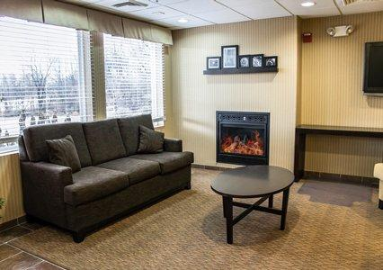 Cozy Fireplace Area In Lobby 22 of 27