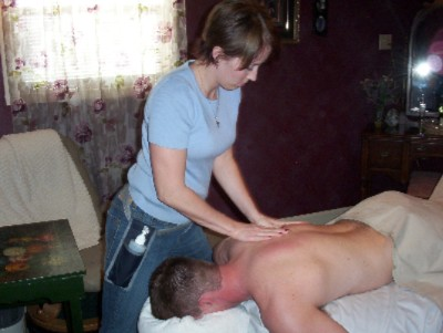 Massage Therapist At Work 4 of 5