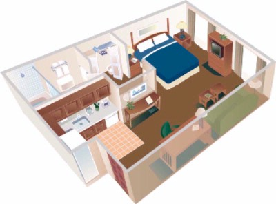 Studio Suite Layout 3 of 5