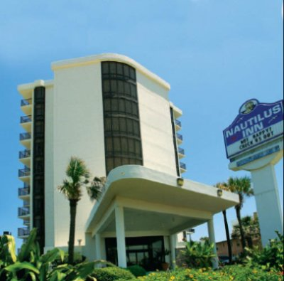 Nautilus Inn Ocean Front Center 1 3 Mi 1515 South Atlantic Ave Daytona Beach Fl 32118