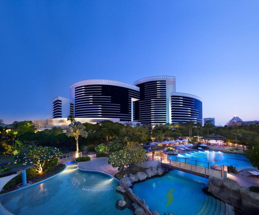 Grand Hyatt Dubai Exterior 7 of 11