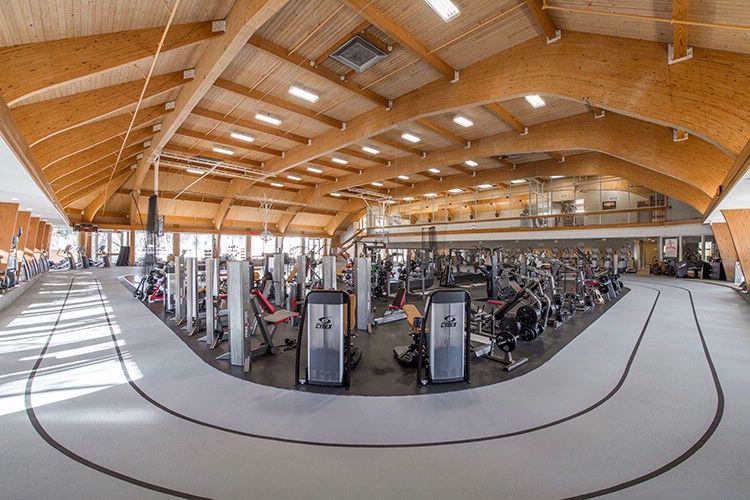 52000-Sq.-Ft. Cooper Fitness Center 7 of 11
