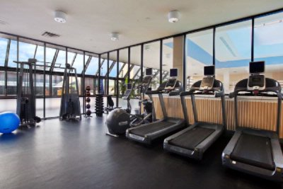 Renovated Fitness Room Features Precor Equipment 12 of 22