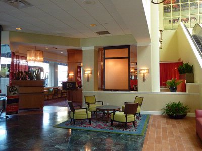 Large Lobby Offers Many Places To Relax And Enjoy The Tranquil Sounds Of The Fountain 20 of 22
