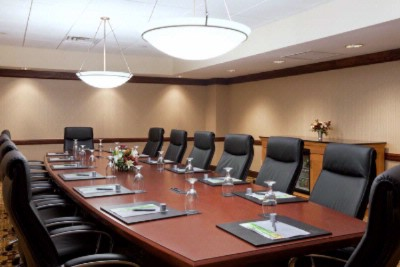 Executive Board Room Featuring Ergonomic Chairs 4 of 22