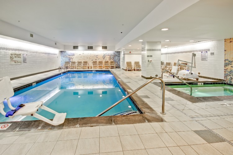 Indoor Swimming Pool And Hot Tub 6 of 23
