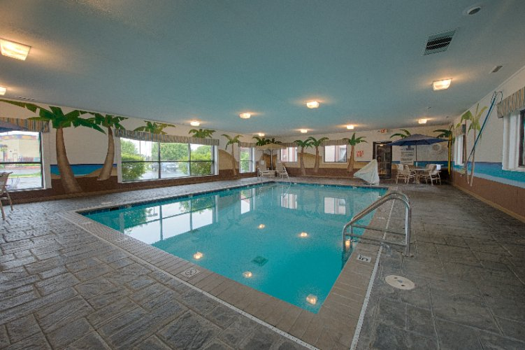 Indoor Heated Saltwater Pool 3 of 15
