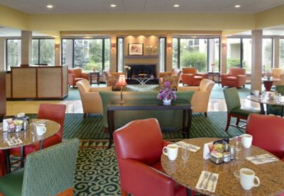 Enjoy A Hot Breakfast In The Morning Or A Glass Of Wine In The Evening In Our Lobby! 4 of 6