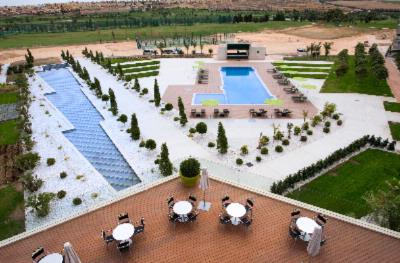 Outdoor Swimming Pool & Hotel Gardens 4 of 9
