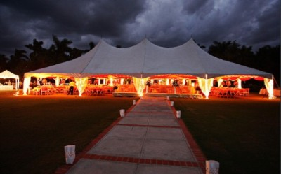 Tent Reception At Half Moon`s Royal Pavillion 9 of 28