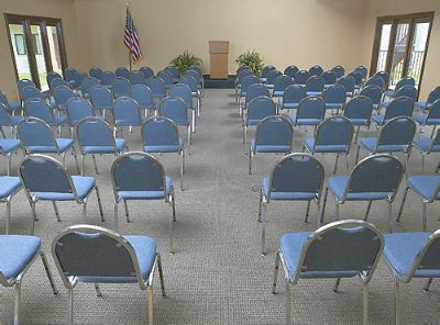 Cypress Meeting Facility Set-Up Theatre Style 10 of 13