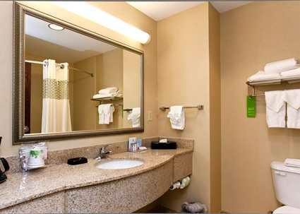 Guest Room Bathroom With Spacious Granted Countertops 13 of 14
