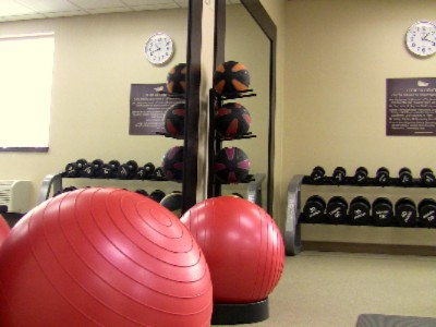 Exercise Balls In Fitness Center 5 of 13