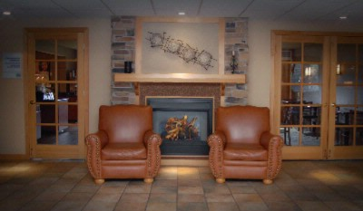 Lobby / Seating By Fireplace 13 of 15