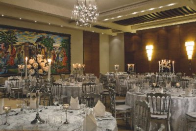 Our Ballroom With A Gala Dinner Set Up 8 of 12