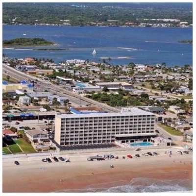 Map Of Pirates Cove Daytona Beach Resort