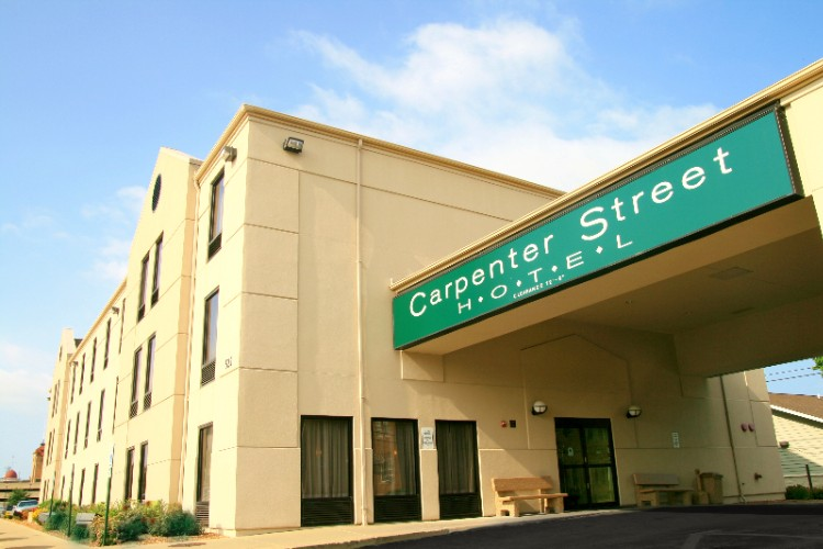 Carpenter Street Hotel 525 North 6th St Springfield Il 62702