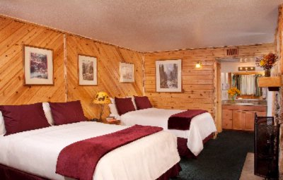 Two Queen Motel Room 5 of 5