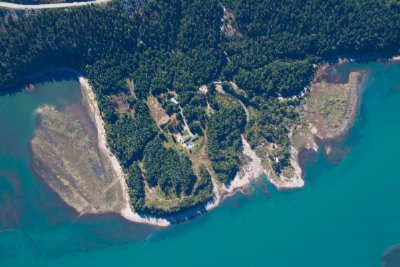 100 Acres Peninsula From Helicopter 3 of 16