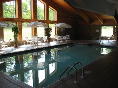 Enjoy Our Indoor Pool Whirlpool & Sauna 9 of 10