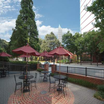 The Residence Inn-Midtown/17th Has A Patio Directly On Peachtree St. 3 of 3