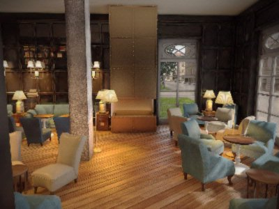 Monbijou Hotel Lounge 3 of 6
