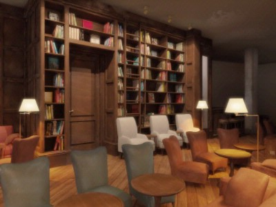 Monbijou Hotel Library 6 of 6