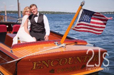 Couples Arrive By Boat For Inn Celebrations. 27 of 31