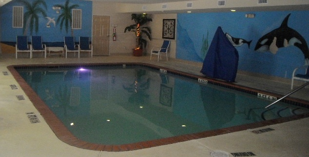 Our Beautiful Indoor Pool Is Large And Beautiful. 9 of 24