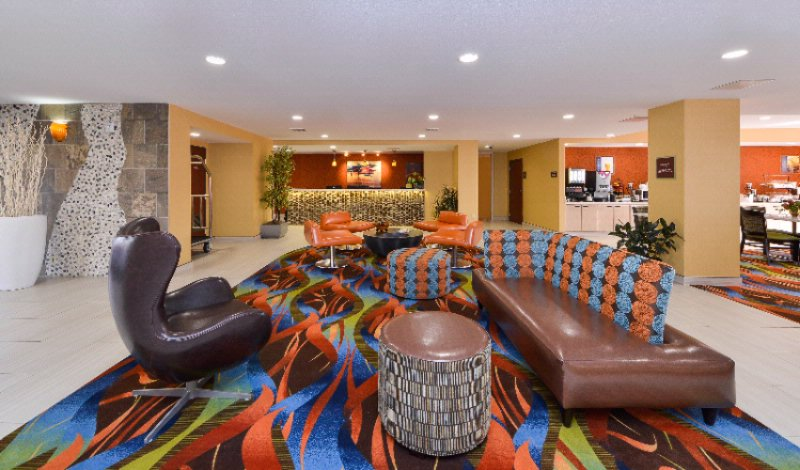 Best Western Plus Fresno Airport Hotel Lobby 3 of 16