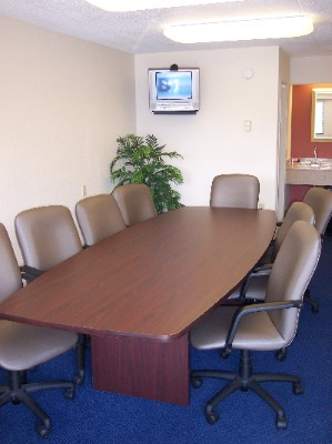 Our Boardroom Seats 10 Comfortably. 5 of 5