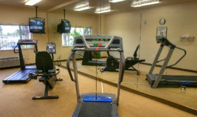 Holiday Inn Express Garden Grove Fitness Center 10 of 12