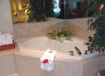 Jacuzzi Suite One King Bed Room 10 of 20