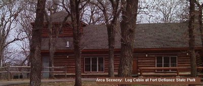 Log Cabin At The Fort Defiance State Park 6 of 7