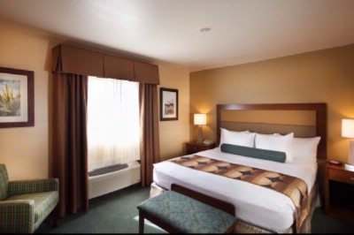 The King Size Bed In The One Bedroom Suite Is Private And Comfortable. 15 of 17