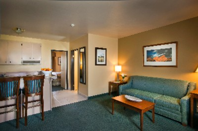 The Living Room In The One Bedroom Suite Is Perfect For Entertaining! 14 of 17