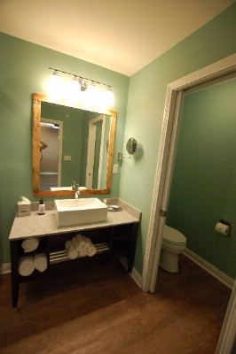 Vanity With View Of Water Closet 11 of 11