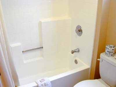 Our Shower/tub Combo Bathrooms Are Very Clean 5 of 11