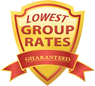 Lowest Group Rates Guaranteed
